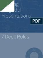 7 Deck Rules - Decklaration
