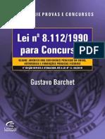 Gustavo Barchet - Lei 8112 Para Concursos (2011)-Ok