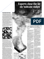 USA Today - Suitcase Nukes - 2007