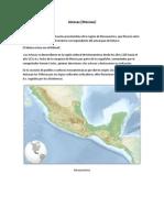 Culturas existentes en México en el Siglo XV