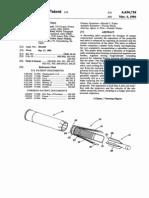 Us 4434718 patent