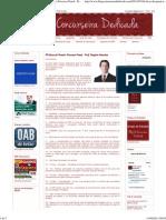 Blog Da Concurseira Dedicada_ 40 Dicas de Penal e Processo Penal - Prof