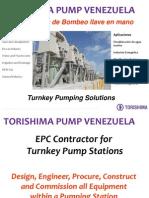 Torishima Pump Venezuela, Ecuador, Centro America y El Caribe