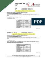 Protocolos Gold Analisa BTS 310