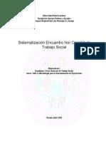 Informe de Sistematizacion Encuentro