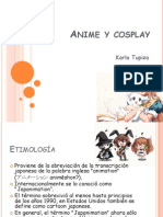 Anime y Cosplay