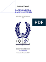 Arthur Powell - La Magia de La Francmasoneria