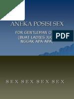 Aneka Posisi Sex