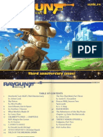 Ray Gun Revival magazine, Issue 54 (3rd Anniversary!)