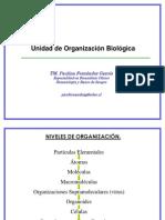 Clase 2 Unidad de organización Biológica