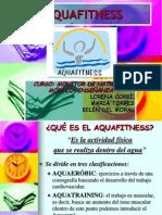 Enseñanza, Aquafitness Alumnos'08
