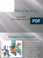 Proctor & Gamble Powerpoint Strategic Overview