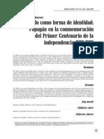 Ledezma Meneses Gerson G - El pasado como forma de identidad Popayán en la conmemoriación del primer Centenario de la independencia 1910-1919