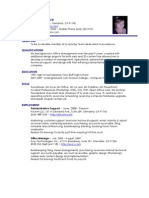 Michelle Wallace - Resume