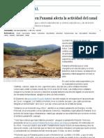 La crisis de energía en Panamá afecta la actividad del canal _ Internacional _ EL PAÍS