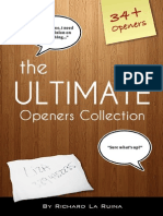 The Ultimate Openers Collection