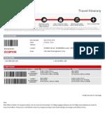 CONTOH FLIGHT TICKET