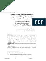 Notícias do Brasil colonial