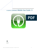iTunes Connect Mobile User Guide