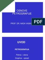 Uvod u Petrografiju