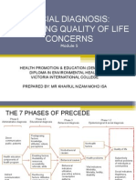 Modul 6 - Social Diagnosis Assessing Quality of Life Concerns