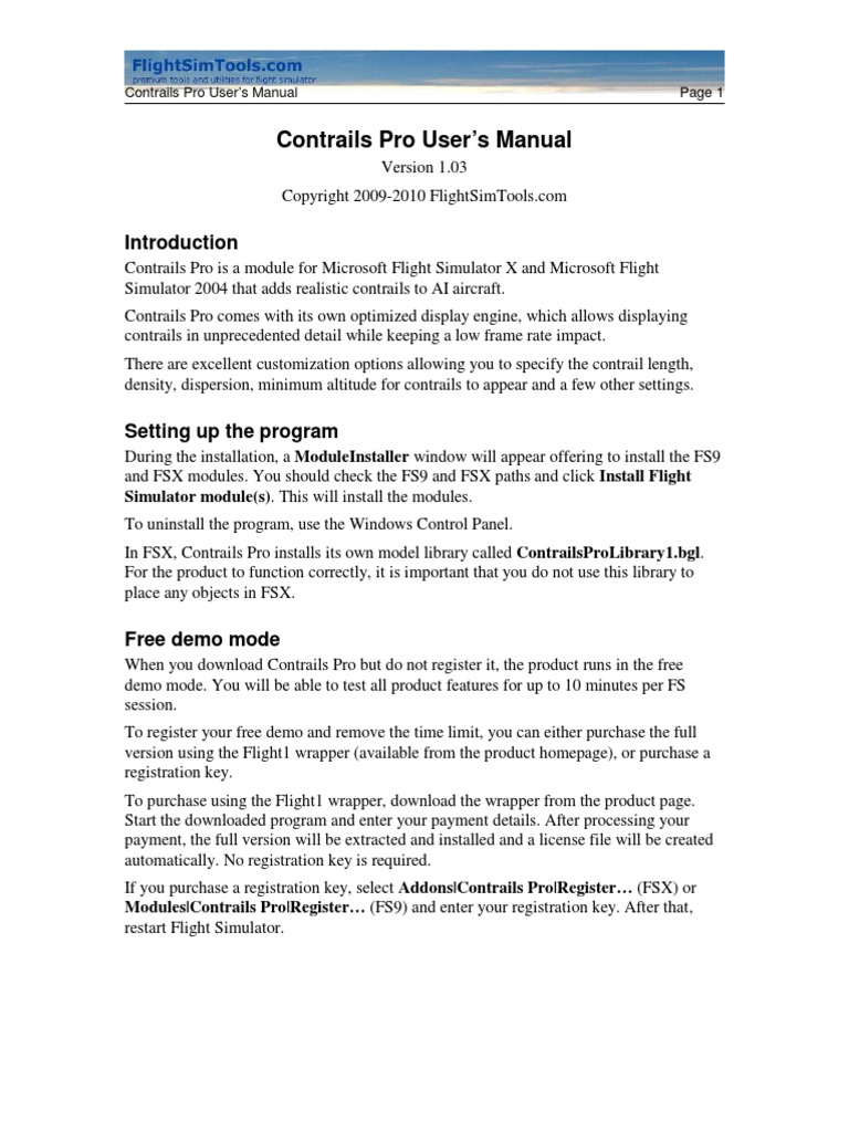 Contrails Pro | System Software | Software