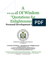A World of Wisdom - Quotations for Enlighten Me