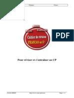 Cahier Francais Cp