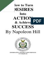 Napoleon Hill-Desires Into Action