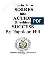 Napoleon Hill-Desires Into Action