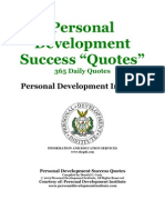Personal Development Success Quotes