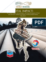 Human Rights and Financial Impacts of Total and Chevron's Yadana Gas Project in Military-Ruled Burma (Myanmar)