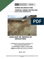01 Análisis de Riesgo de Desastres 2013