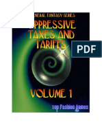 d20 Top Fashion Games Oppressive Taxes and Tariffs Volume 1