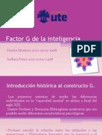 El Factor G de La Inteligencia