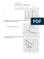 Answers - Enlargements