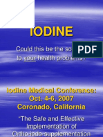 IODINE - Solution to Healthproblems