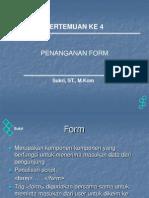 Pengenalan Form pada PHP