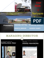 satyam scandal presentation