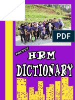 HRM Dictionary