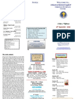 Newsletter 13 Sept 09