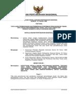 Keputusan Kepala Badan Pertanahan Nasional Nomor 19 Tahun 1989 Tentang Tata Cara Permohonan Dan Pemberian Konfirmasi Pencadangan Tanah, Izin Lokasi Dan Pembebasan Tanah, Hak Atas Tanah Dan Pendaftarannya Untuk Kawasan Industri