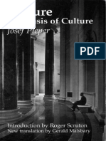 Leisure the Basis of Culture - Josef Pieper & Gerald Malsbary & Roger Scruton