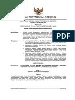 Keputusan Kepala Badan Pertanahan Nasional Nomor 12 Tahun 1992 Tentang Susunan Dan Tugas Panitia Pemeriksaan Tanah