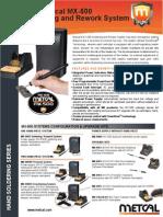 Metcal MX 500 Data Sheet