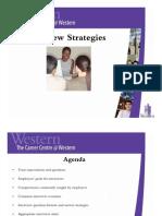 Interview Strategies General 2009 2010