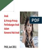 Anak Dan Prinsip Prinsip Perlindungan Anak