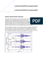 Seismic and the Earth