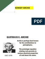 (2)Archie Equation