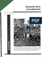 GeometriaII14-ecuaciondelacircunferencia